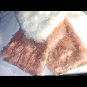 Faux fur new with tag! Bundle and save